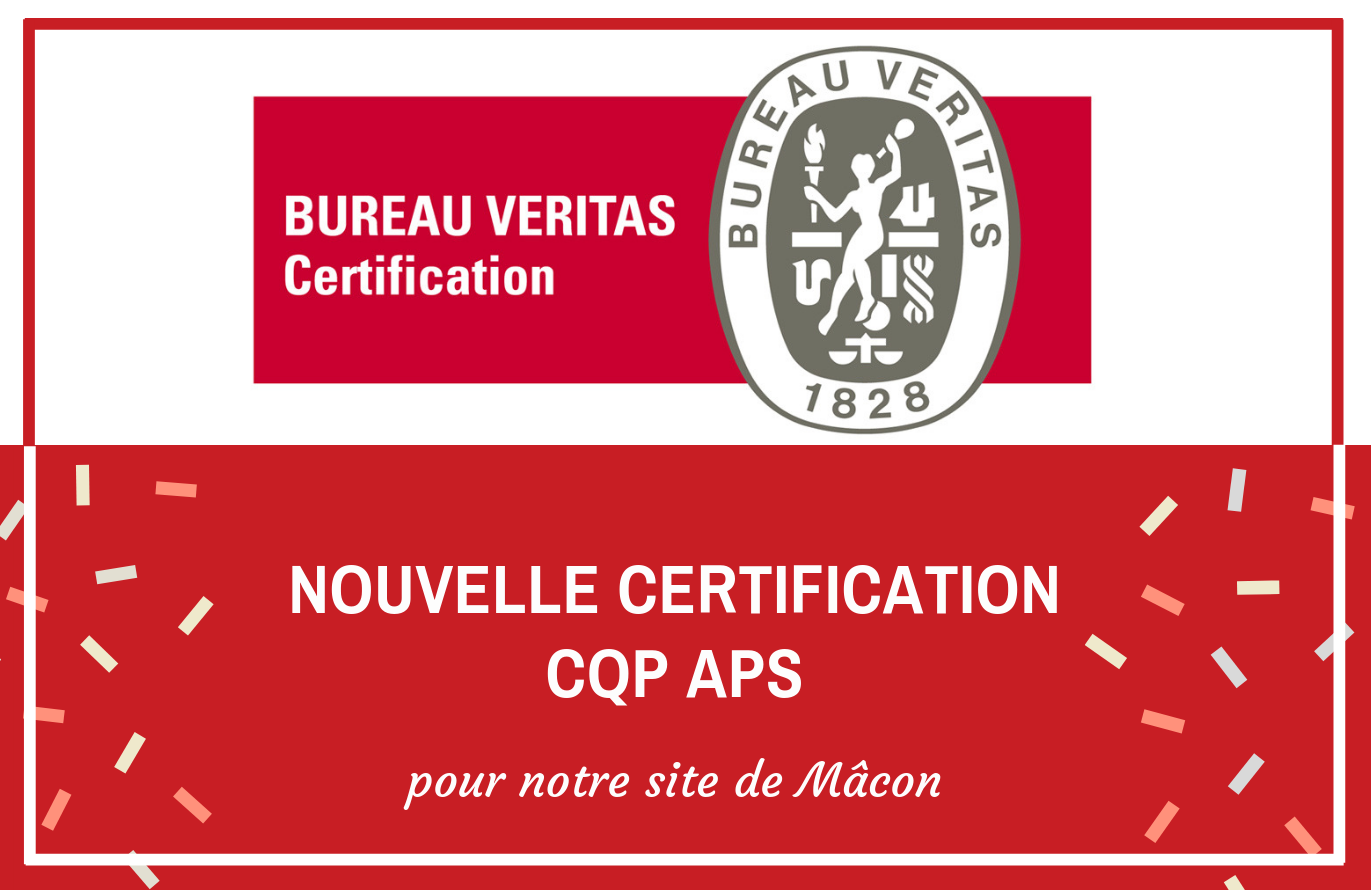Certification CQP APS